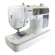 Brother innovis 955, naaimachine en borduurmachine in één! Nu met ingebouwde usb poort