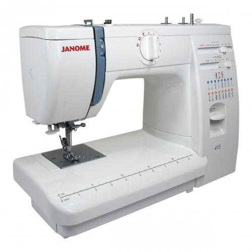 Janome 415 White demo