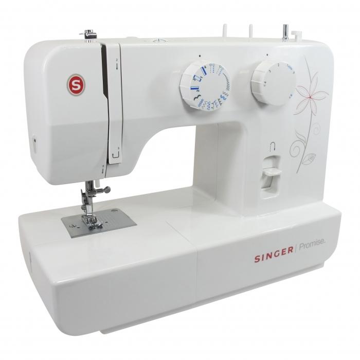 Gebruikte Singer 1412 lichtgewicht huishoud naaimachine