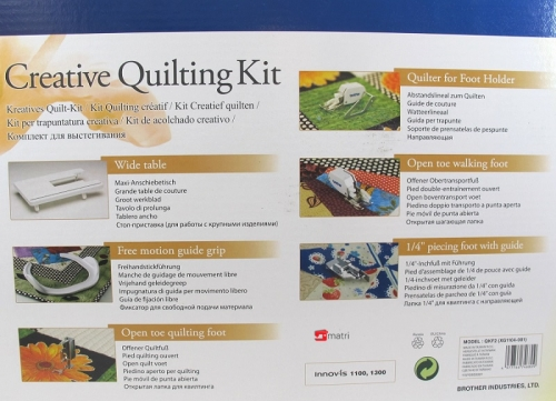 Brother creative quilting kit QKF2