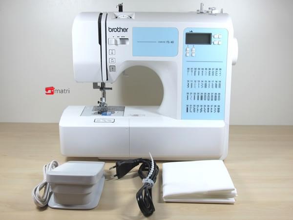 brother fs40 een veelzijdige naaimachine van topkwaliteit aanbieding matri naaimachines. Black Bedroom Furniture Sets. Home Design Ideas