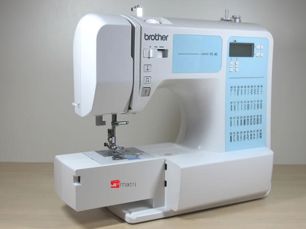 brother fs40 een veelzijdige naaimachine van topkwaliteit. Black Bedroom Furniture Sets. Home Design Ideas