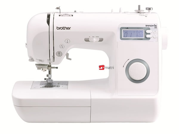 Brother nv 35 innovis serie is een veelzijdige naaimachine for Machine a coudre 70 euro