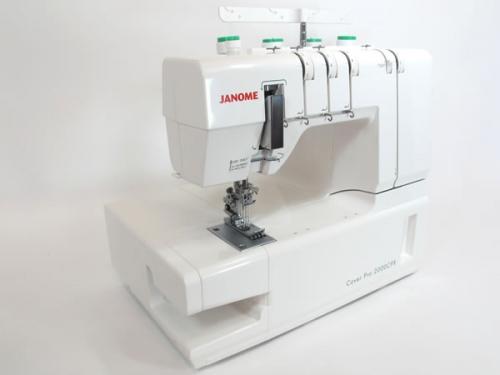 Janome Coverlock Pro 2000 CPX gebruikt