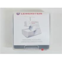Lewenstein set van 3 voeten voor Coverlockmachine 900