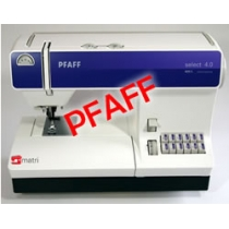 Pfaff select 4.0 de confortable naaimachine!