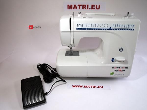 Matrimatic in stap met de tijd for Machine a coudre klein