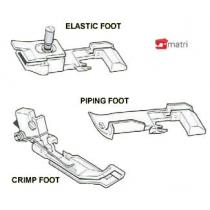 xxx-overlock voeten set 3 stuks